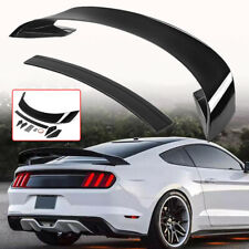 For 15-17 Ford Mustang GT350/GT350R Style Rear Trunk Wing Spoiler Glossy Black