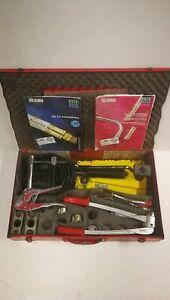 hyd. Rautool Werkzeug REHAU Schiebehülse 17-32 + Aufweitzange + Rohrschere