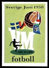 Panini World Cup Story 1990 - World Cup 1958 No. 13