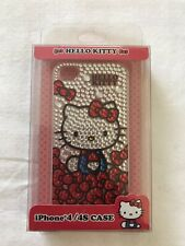 NIB Sanrio HELLO KITTY Phone Cade for iPhone 4 /4sBLACK ~ New in Sealed Box