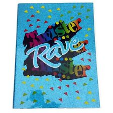 Twister Rave 6x8 Fashion Journal by Fashion Accessory Bazaar