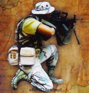 1/35 Afghanistan War Soldier Resin Kits Unpainted WW2 Figure Model GK