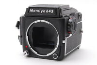 【N MINT】 Mamiya M645 1000S Film Camera + Waist Level Sports Finder JAPAN h72