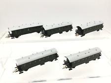 TT Gauge DR 4 Wheel Passenger Coaches x5