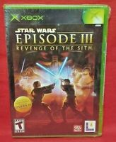 Star Wars Episode III Revenge of the Sith Xbox Sealed New Black label Game Rare