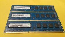 12GB (3 x 4GB) PC3-12800U Desktop DDR3 1600 MHz 240-Pin DIMM Memory