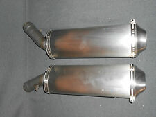GENUINE DUCATI 848 EVO 2009  EXHAUSTS L/H & R/H PAIR 57311181A & 57411181A (JC)