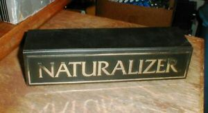 Vintage NATURALIZER Shoe Store Point-Of-Purchase Plastic Advertising Sign