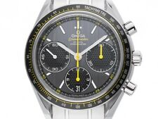 Omega SPEEDMASTER RACING co-assiale CRONOGRAFO ACCIAIO AUTOMATICO 40mm box&pap.