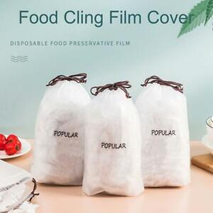 50/100/200/300pcs Fresh Keeping Bags Disposable Bowl Cover Vacuum Sealed
