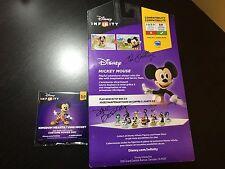*RARE D23 2015 Disney Infinity 3.0 Kingdom Hearts King Mickey Mouse & Power Disc