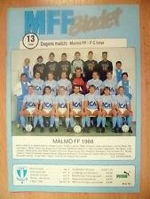 1988 taza de UEFA-Malmo FF v FC Inter