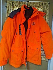 Trail Tech Blaze Orange System Parka Size Medium... Hunting Coat With Tags