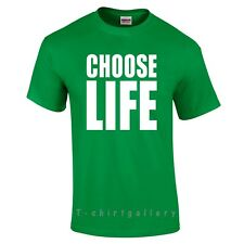 453f8bb0 Choose Life T-shirt Inspired by Wham Replica George Michael 80s Retro Fancy  Tops