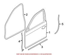 For BMW Genuine Door Seal Front Left 51767226395