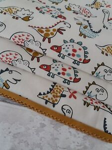Made To Measure Roman Blind lovely dinosaur Fabric perfect for children's rooms