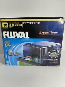 FLUVAL - HAGEN AQUACLEAR HANG ON POWER FILTER 30 (UP TO 30 GAL)
