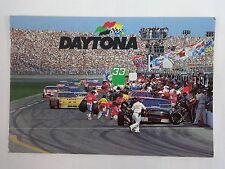 Vintage Daytona International Speedway Collector Postcard Nascar 8