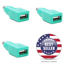 NEW USB Female to PS/2 Male Mouse Adapter Converter Plug For Desktop PC USA