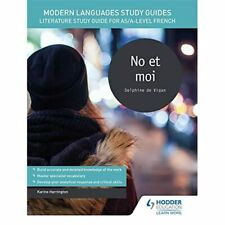 Modern Languages Study Guides: No et moi: Literature St - Paperback NEW Harringt