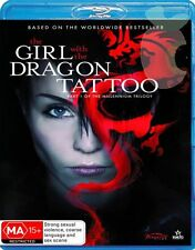 The Girl With The Dragon Tattoo (Blu-ray, 2010) NEVER PLAYED & STILL SEALED