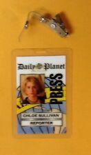 Superman Smallville Id Badge-Chloe Sullivan Reporter
