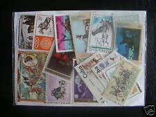 TIMBRES CHEVAUX : 25 TIMBRES NEUFS TOUS DIFFÉRENTS / HORSES STAMPS