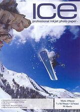 ICE Matt 7x5 Photo Paper 190gsm 300 sheets 7 x 5 Matte 190g