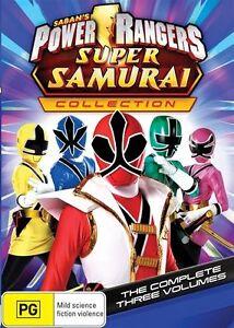 Power Rangers Super Samurai Collection Volume 1 + 2 + 3 DVD LIKE NEW 🔥🔥