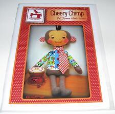 Cheery Chimp MONKEY STUFFED TOY fabric sewing pattern