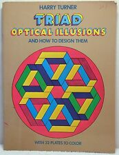 TRIAD OPTICAL ILLUSIONS & HOW TO DESIGN THEM Turner Art History Coloring Book