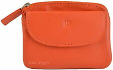 PRIME HIDE LADIES SMALL LEATHER ZIP AROUND COIN PURSE - 9 FAB COLOURS STYLE 761