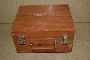 ^^ WESTON AC-DC AMMETER MODEL 370 IN WOODEN CASE