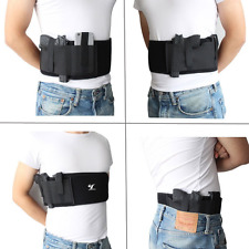 Belly Band Holster Concealed Carry with Magazine Pocket/Pouch Women/Men Sports