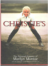 Christie's Catalog, The Personal Property of Marilyn Monroe, 1997