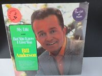 "BILL ANDERSON MY LIFE 12"" SEALED VINYL LP RECORD"