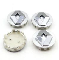 4 x 54mm Renault Car Grey Wheel Center Hub Caps Badge Emblem Logo