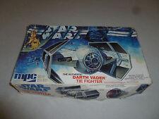 Boxed Star Wars Model Kit Darth Vader Tie Fighter Mpc Vintage 1977 Unbuilt Cib >