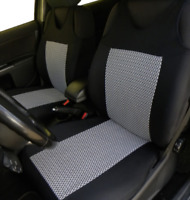 2 Grey Front Car Seat Covers for Nissan Saab Seat