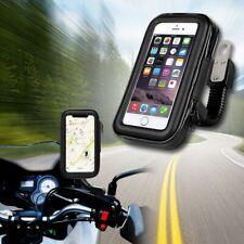 SOPORTE Funda Impermeable para MOTO bici universal movil de 5.5 GIRO 360º