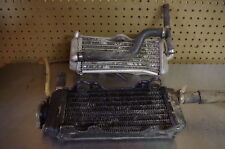 01 YAMAHA YZ125 LEFT + RIGHT RADIATORS COOLING ASSY YZ 125 COMPLETE
