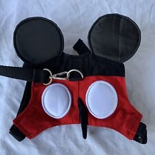 Disney Mickey Mouse Toddler Harness & Lead Adjustable Straps Red / Black