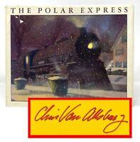 Chris Van Allsburg - The Polar Express - SIGNED 1st 1st w/ First STATE DJ