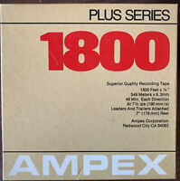 "Ampex 342 Plus Series Reel to Reel Tape, LP, 7"" Reel, 1800 ft, Refurbished"
