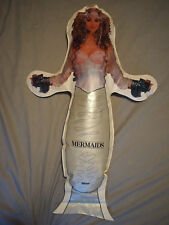 "Super Rare Cher Mermaids 1991 Blowup Movie Promo Inflatable Figure Huge 38""Tall"