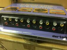 Home Theater A/V Selector Box RCA and S-Video Switch Box ARISTA 56-4575