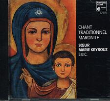 CD album: Chant Traditionnel Maronite: Soeur Marie Keyrouz. Harmonia mundi . I