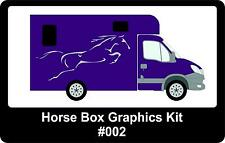 Horse Box Graphics, Available In Any Colour, Graphics Kit #002