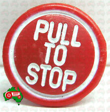 CHEAP POST! Pull To Stop Tractor Stop Stopper Control Knob Massey Ferguson