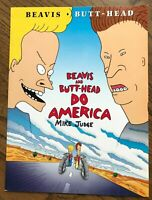 Beavis and Butt-Head Do America folder, Mike Judge Signed, Animator, Cartoonist